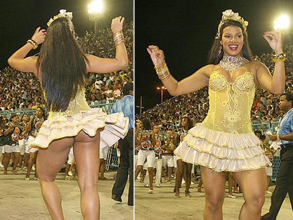 !!! PREPARATIONS FOR THE 2008 CARNIVAL !!! - 300 POUNDS OF GLUTES