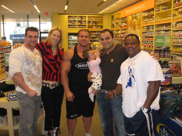 Jay Cutler -Vitamin Shop Event-LA jan 3rd 09