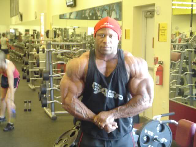 Marcus Haley 5 days out!