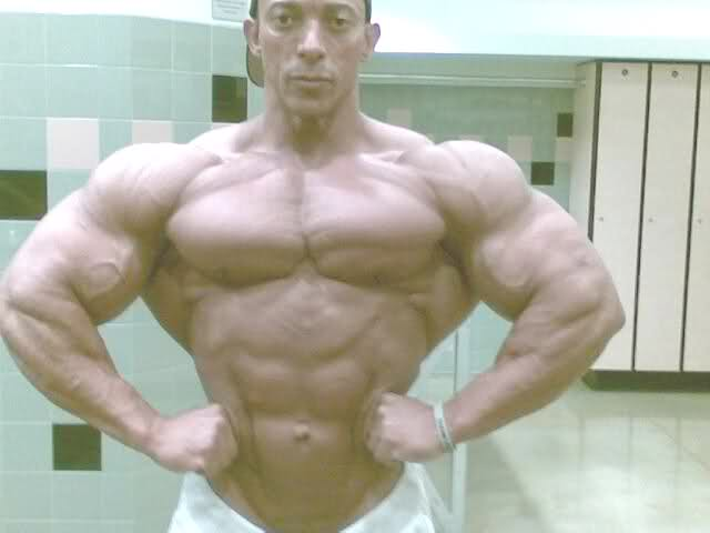 Troy Alves pics from 10 days out