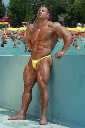 Daniele Seccarecci PRO IFBB, 7 weeks out IronMan 2009