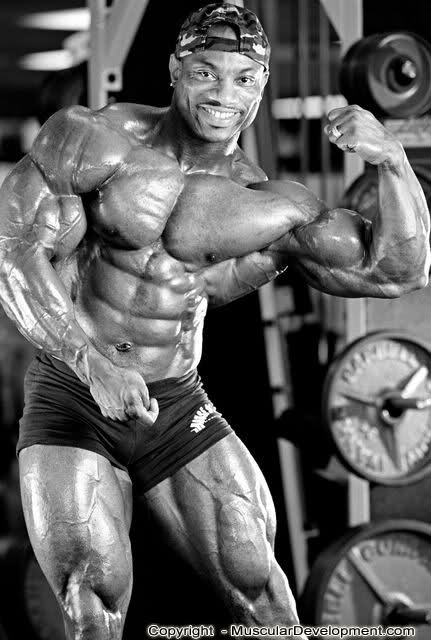 Dexter Jackson - old pics from MD