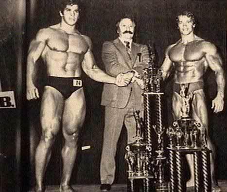 1974 Mr. Olympia: Lou Ferrigno vs Arnold Schwarzenegger