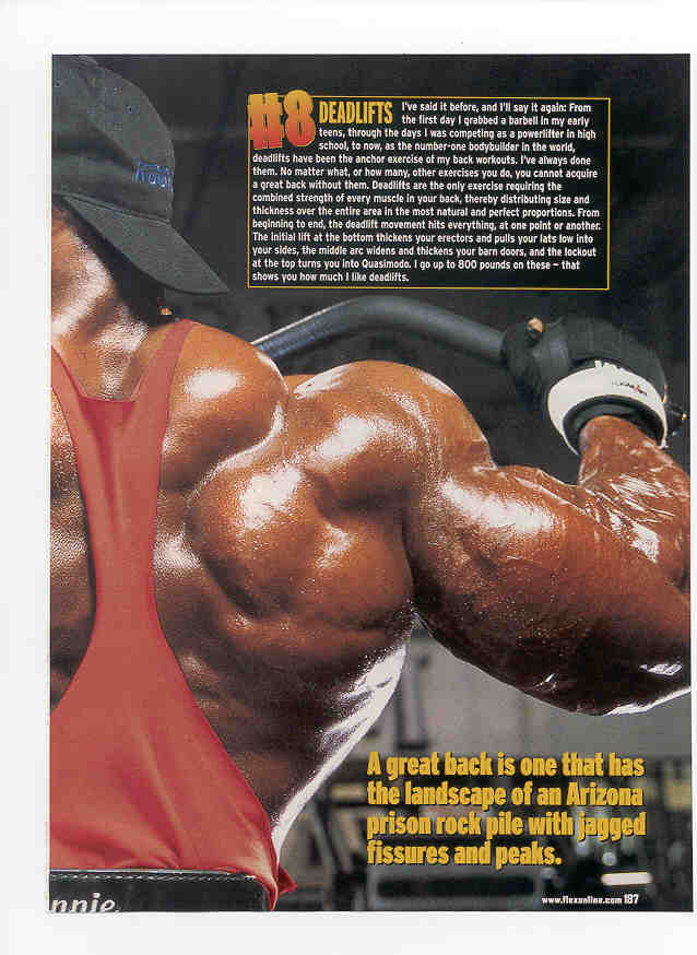 Ronnie Coleman - lots of articles!
