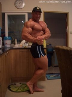 Con Demetriou 10 Days Out Of The 2009 IFBB Ironman Pro