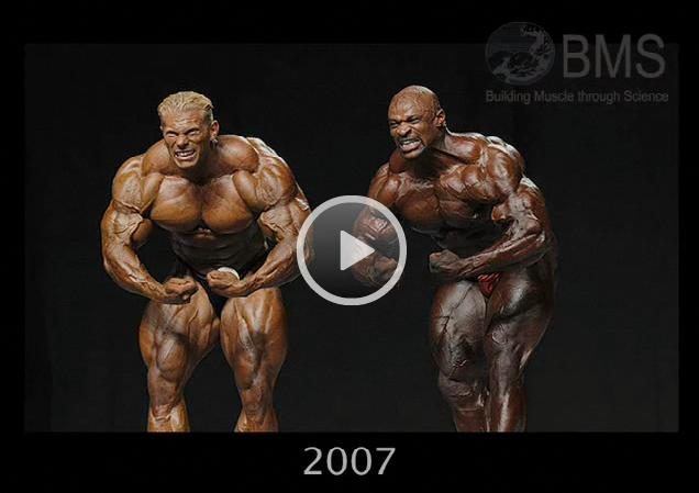2008 DENNIS WOLF PRE-OLYMPIA MONSTER  PHYSIQUE VIDEO - FOR ALL WOLF FANS