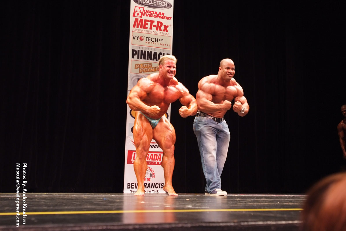 TRIBUTE TO THE GREATEST BODYBUILDING'S RIVALRY: JAY X RONNIE -THE GUEST POSING THREAD