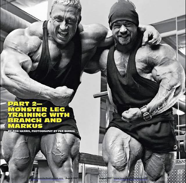 Markus Ruhl & Branch Warren MD scans