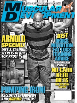 March MD Cover: The Arnold Special!!