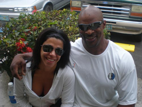 CHRISTINE COLEMAN - INTERVIEW WITH RONNIE COLEMAN'S WIFE