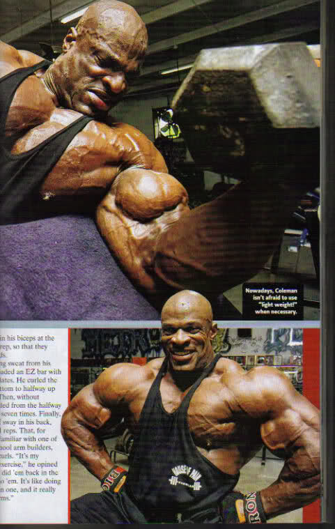 Flex magazine cover for April 2009