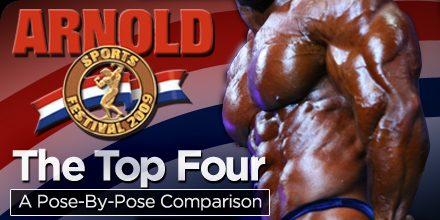 Arnold Classic: Pose By Pose Comparison for the Top 4
