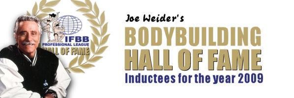 2009 Hall of Famer Flex Wheeler
