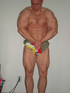 The Natural Monster 6 Weeks Out!!! (208lbs) David Turk