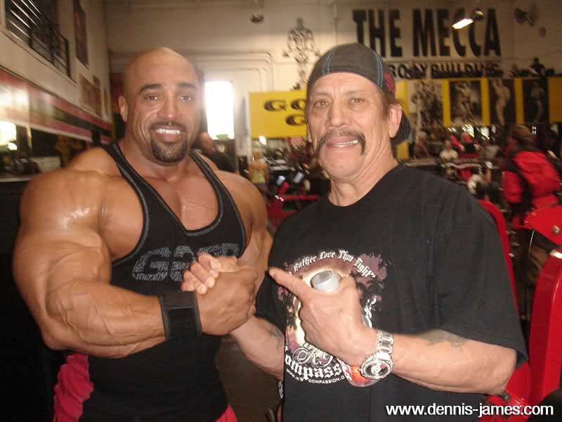 Dennis James 3 weeks out of ASC 2009