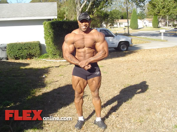 Marcus Haley - 246 lbs., 4 Weeks Out From The Arnold!