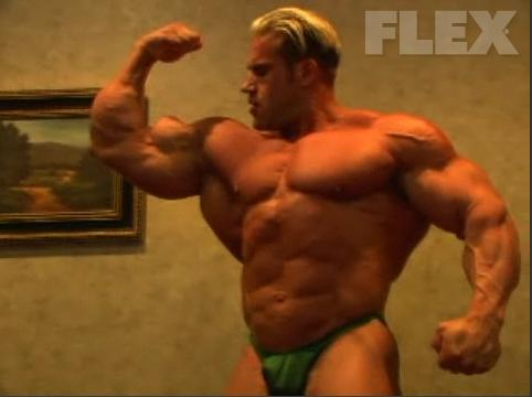 Jay Cutler 2 weeks out from Olympia 2008 video
