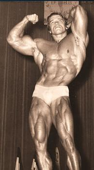 1971 Mr. Olympia Arnold competes unopposed