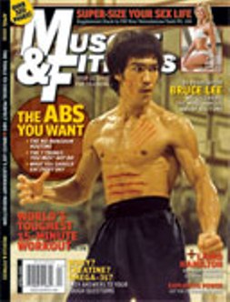 Bruce Lee to Feature on Muscle & Fitness Cover April Edition