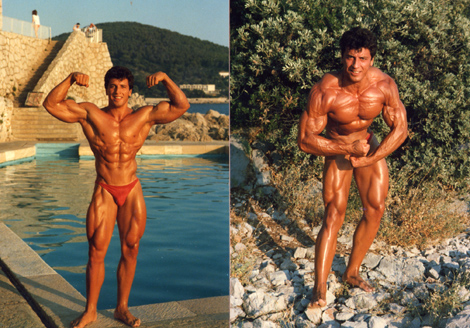 Pro's When They Were Young (photos)