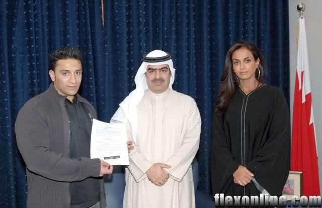 New pro from Bahrain- Tariq Jaafar Al Farsani