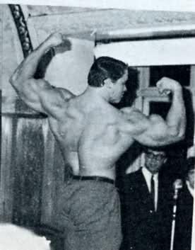 1967 NABBA Mr. Universe Pearl and Schwarzenegger take the gold