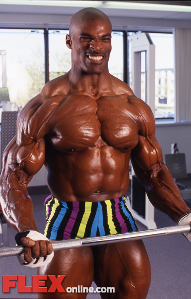 Pic of a Young Ronnie Coleman