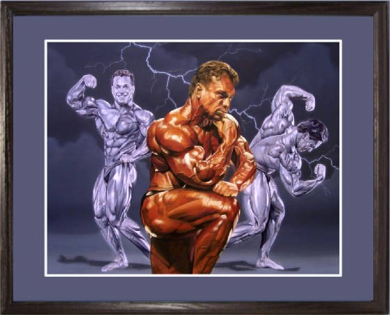 LEE HANEY AND RICH GASPARI TRAINING TOGETHER - AMAZING CLASSIC ARTICLE!!