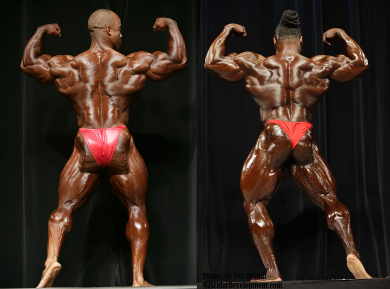 victor martinez 2007 vs kai greene 2008 asc