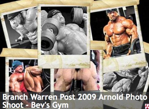 Branch Warren Post 2009 Arnold Photo
