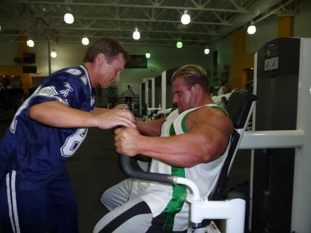 Jay Cutler's new training photos