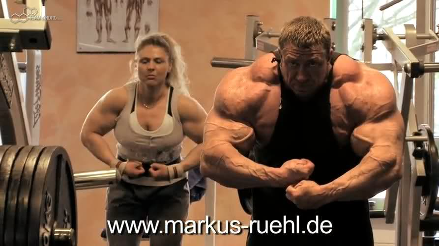 Markus Ruhl 7 weeks out of NY pro training video