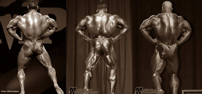 Kevin Levrone Mr. O 2002 VS. Kai Greene AC 2009 VS. Phil Heath Mr. O 2008