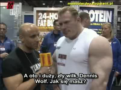 MD.pl interviews with Dorian Yates, Dennis Wolf, Flex and Shawn Ray