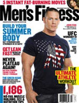 John Cena in Mens fitness. Cenas Top 5 Exercises
