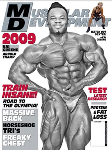Muscular Development Magazine June 2009[PDF/ZIP][MF]