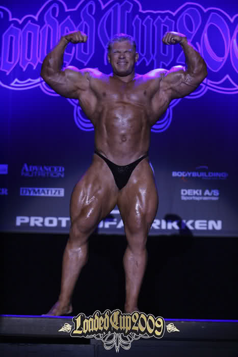 Dennis Wolf  guest posing at Danish Loaded Cup 2009 (18.4.2009)