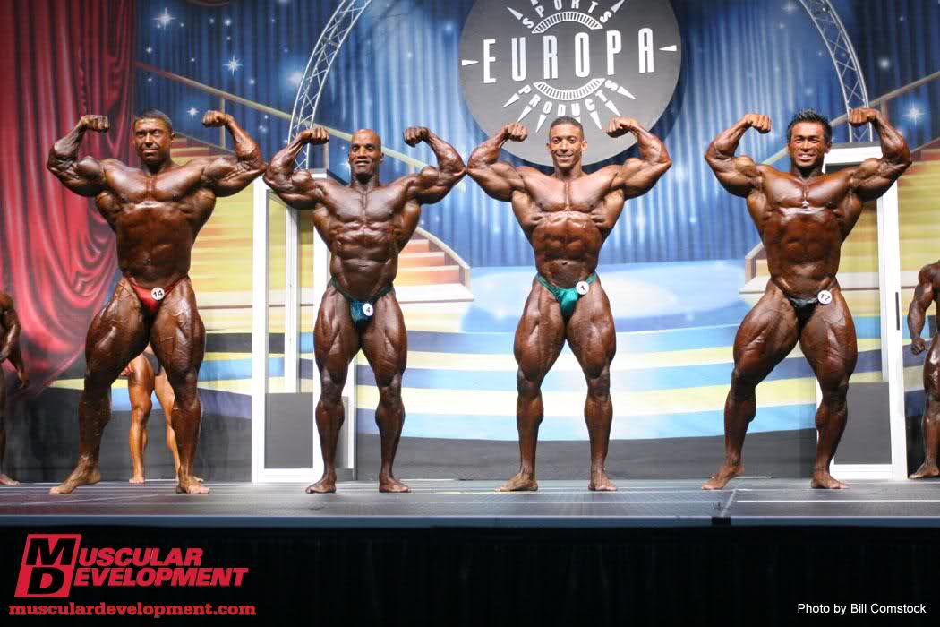 Troy alves wins the europa show of champions!