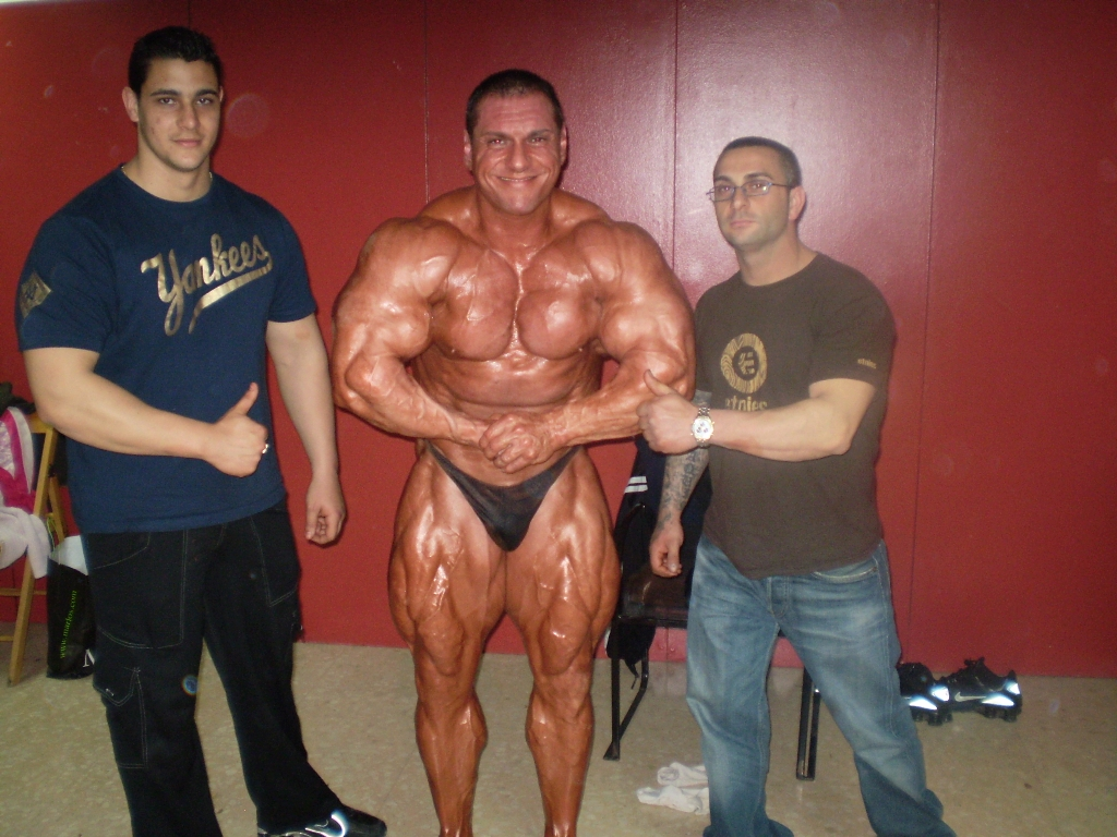 Paco Bautista recent guestposing (5 weeks to the Europa Show)