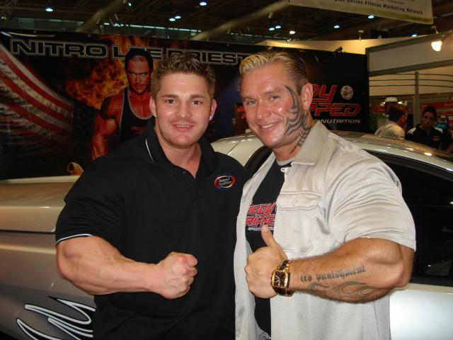 Recent Flex Lewis and Lee Priest photos (18.4.2009)
