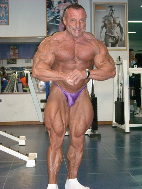 Paco Mula 4 weeks out to the NY Pro