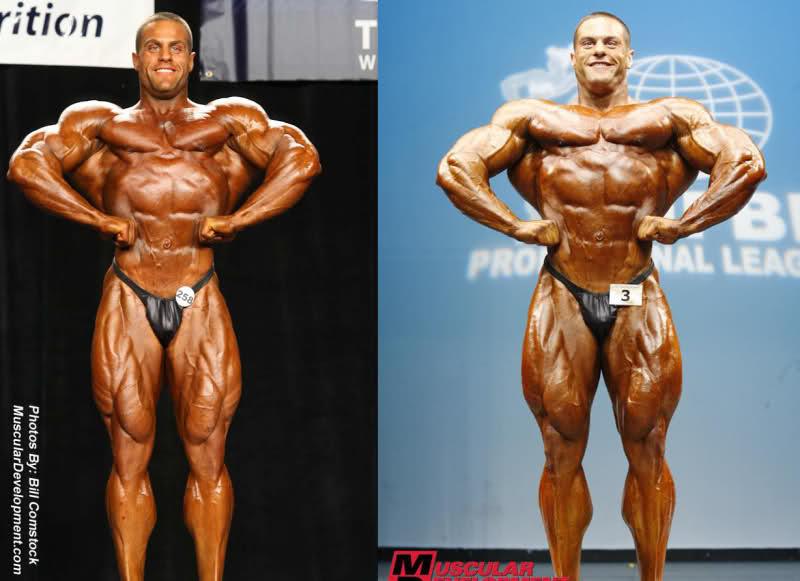 Evan Centopani 2007 Nationals vs 2009 NY Pro