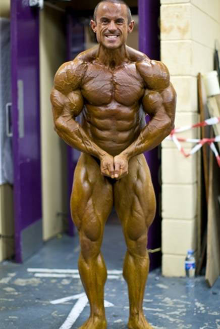 James Llewellin, New IFBB PRO