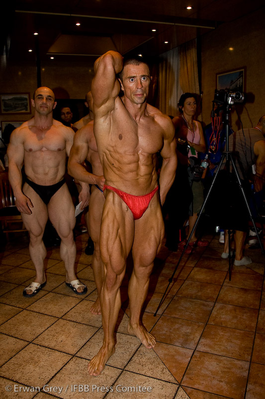 European Championship weigh-in pics