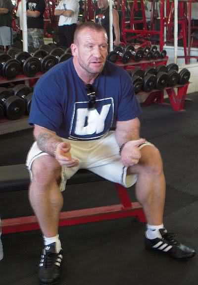 Dorian Yates - Blood and Guts Seminar at Apollon Gym