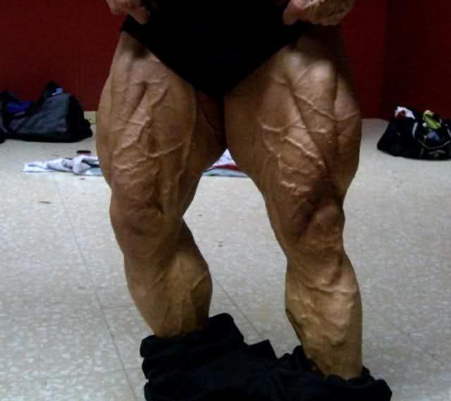 wtf happened to paco bautista`s legs???