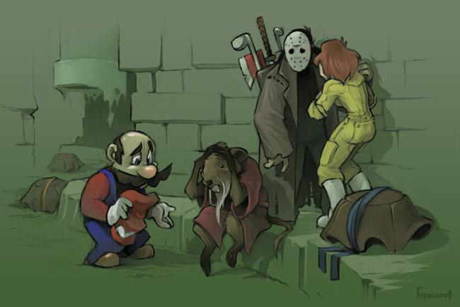 Mario + Turtles =