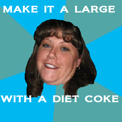 Fat advice lady.