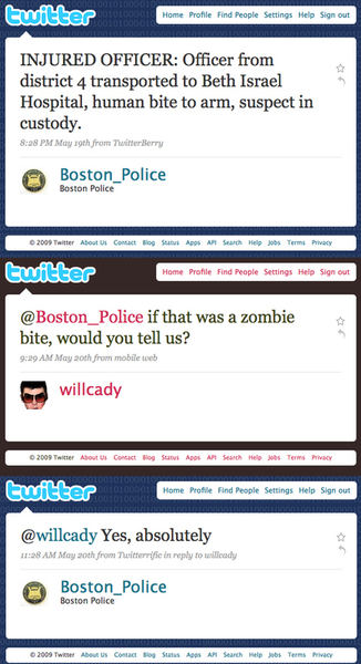 Boston safe from teh Zombies!!!