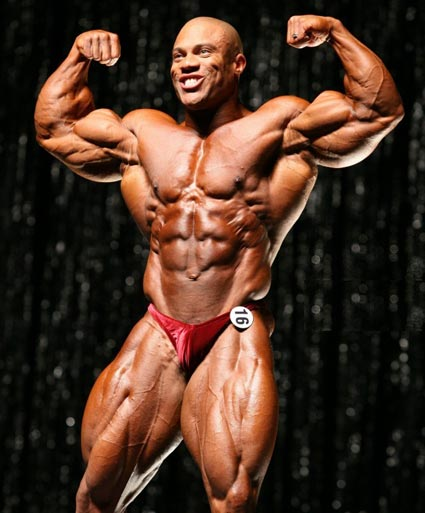 Phil Heath In Arnold Classic Workout